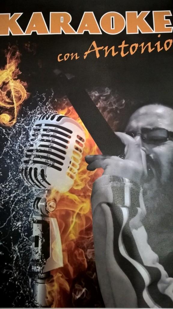 Karaoke con Antonio, ogni giovedì sera